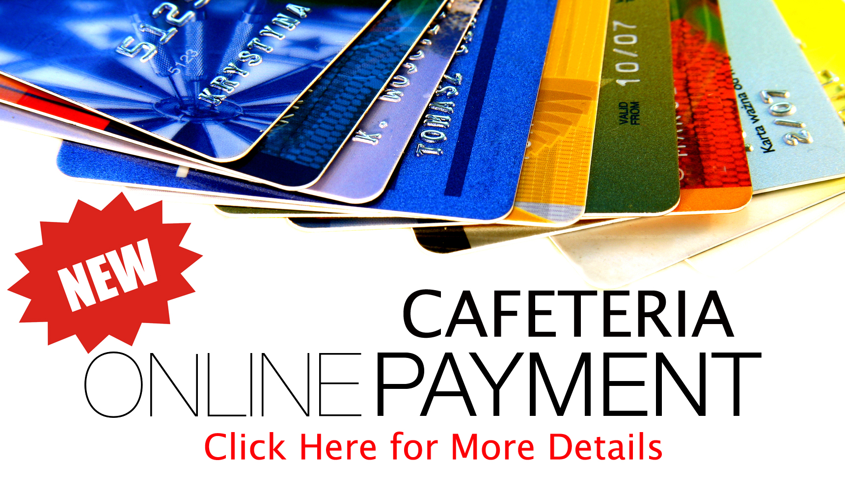 Online Cafeteria Payments Cliffside Park School District