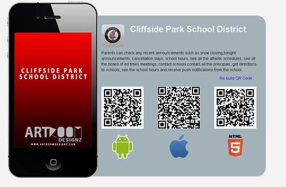 Download The Cliffside Park School District App