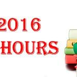 2016-2017 School Hours