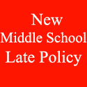 *NEW* Middle School Late Policy