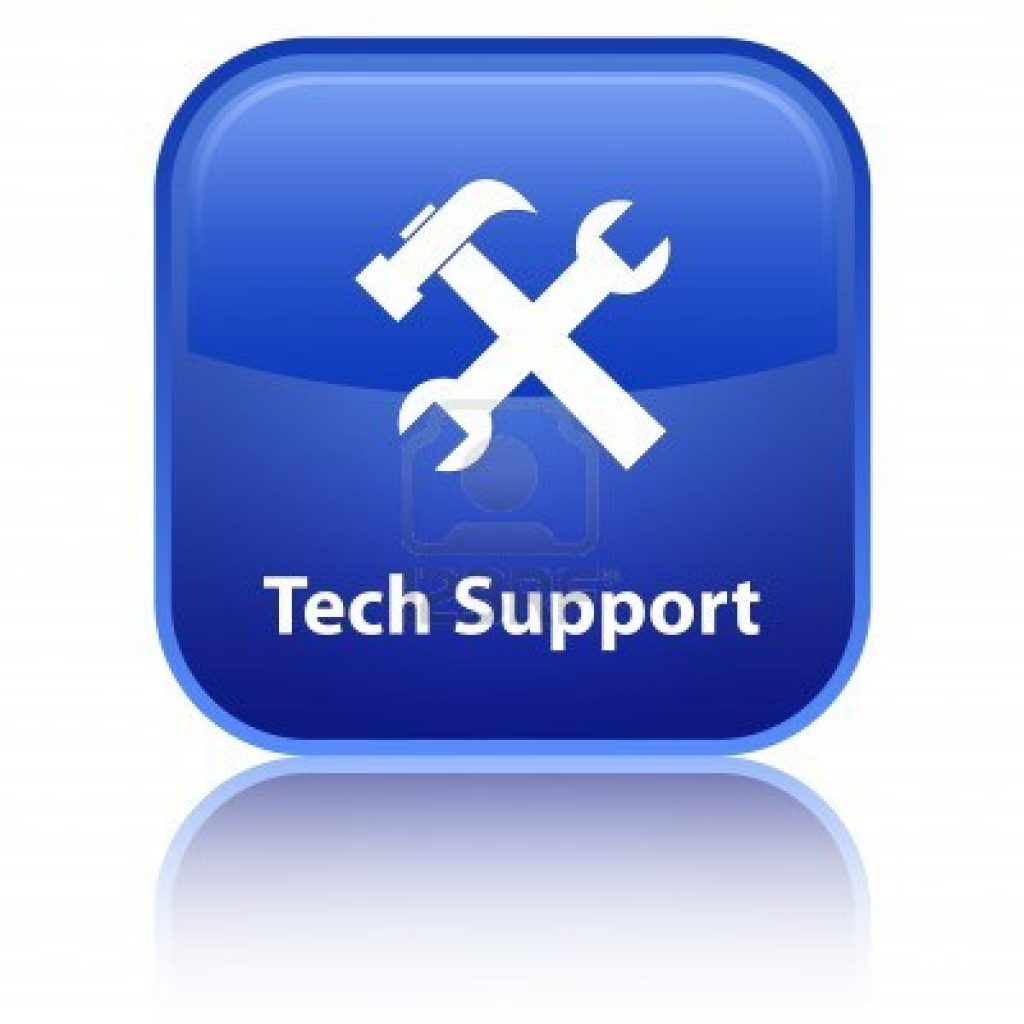Click Here for Tech. Support.