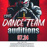 CPHS Dance Team Auditions