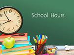 2019-2020 School Hours