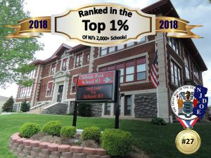 Cliffside Park School #3 Ranked #27 in the State